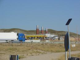 Ha comenzado el contencioso contra la planta de gas
