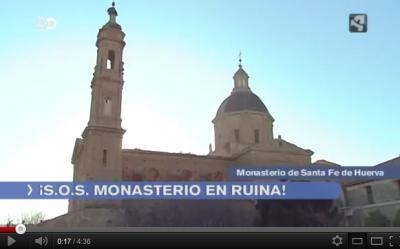 El Monasterio de Santa Fe en Aragón TV