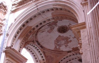 El Monasterio de Santa Fe podría acabar en ruinas